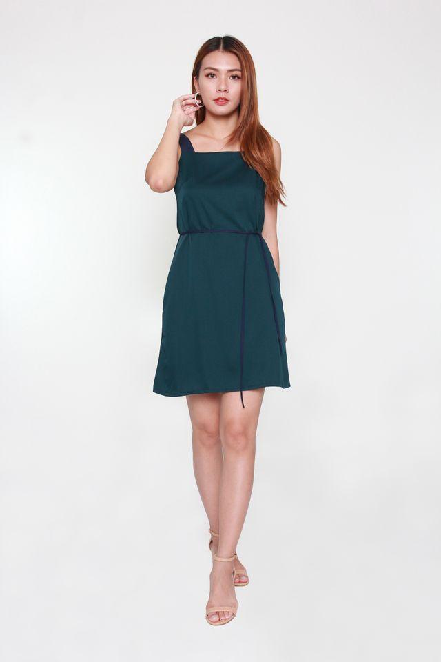Bertina Colorblock Mini Dress in Sacramento
