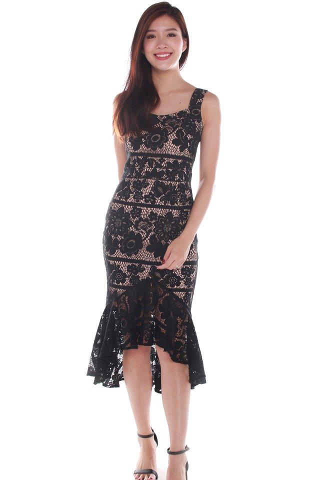 Sieara Lace Mermaid Dress
