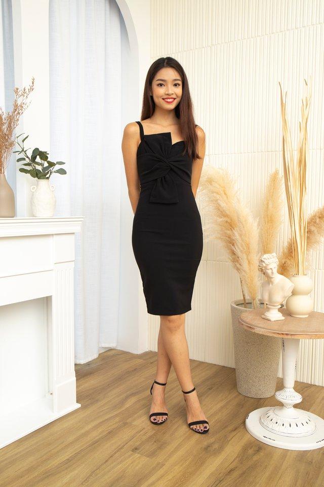 Thalia Bow Bodycon Dress