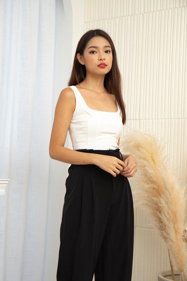 Danica Corset Top in White